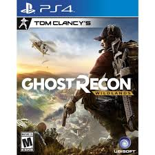 PS4 GAME GHOST RECON WILDLANDS