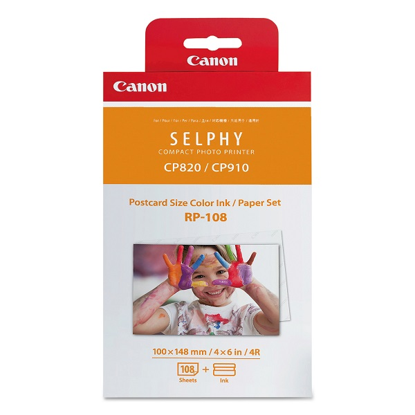 CANON INK&PAPER RP-108 FOR SELPHY CP1300
