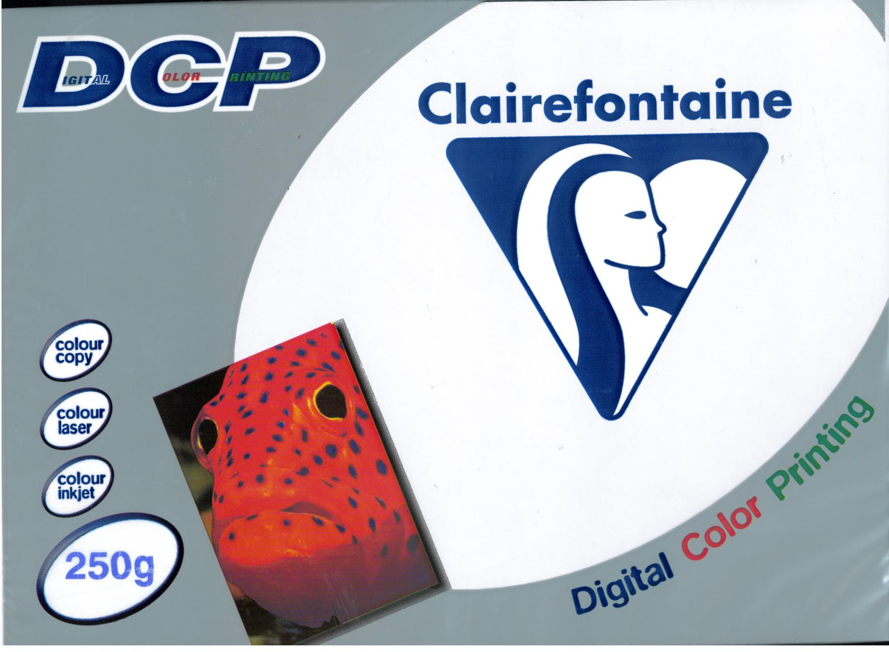 PAPER CLAIREFONTAINE 250GR A4 125S WHITE