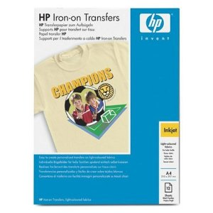 HP IRON-ON TRANSFERS T-SHIRT A4 C6050A