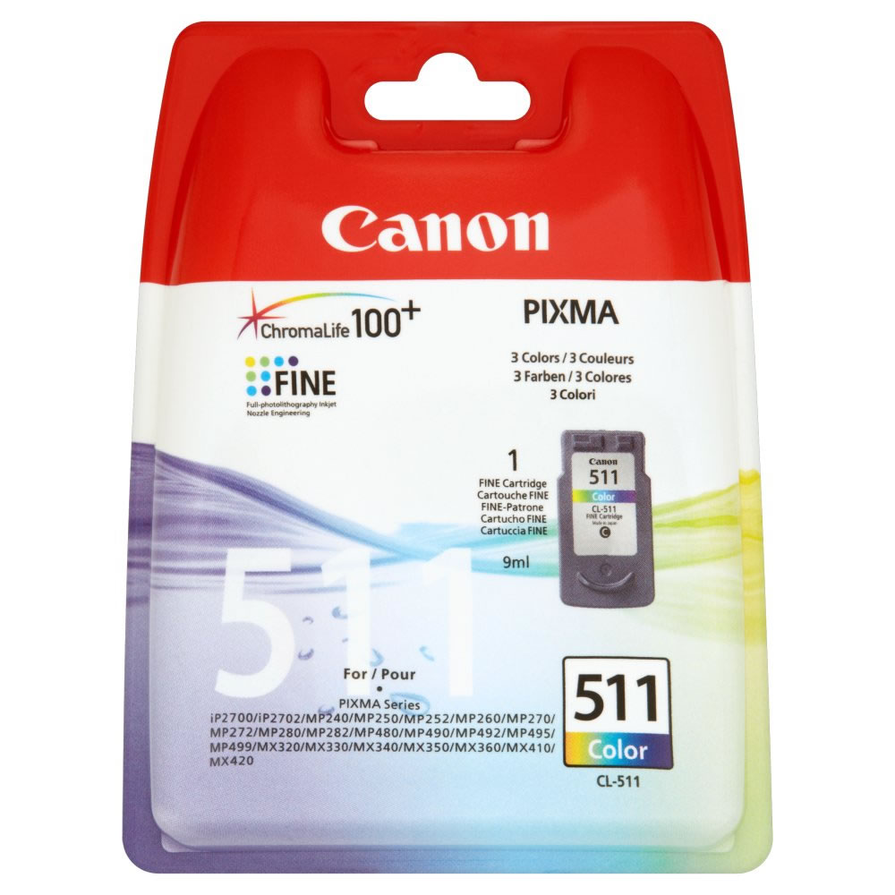 CANON INK CARTRIDGE CL-511 COLOUR