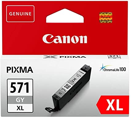 CANON INK  CLI-571G XL GREY