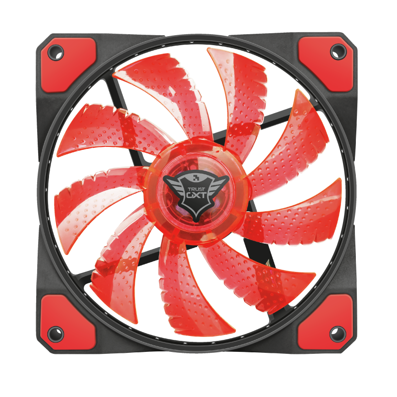 TRUST GAMI.ACC GXT762 PC FAN RED 22349