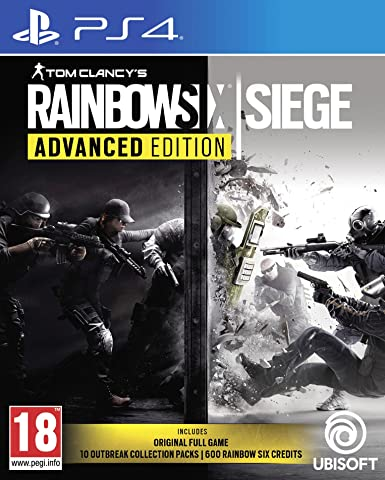 PS4 GAME RAINBOWSIX SIEGE ADVANCED EDITI
