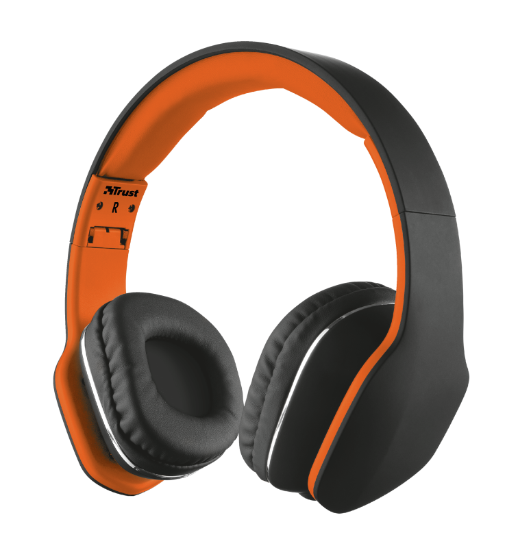 TRUST HEADPHONES UR MOBI BLACK 20115