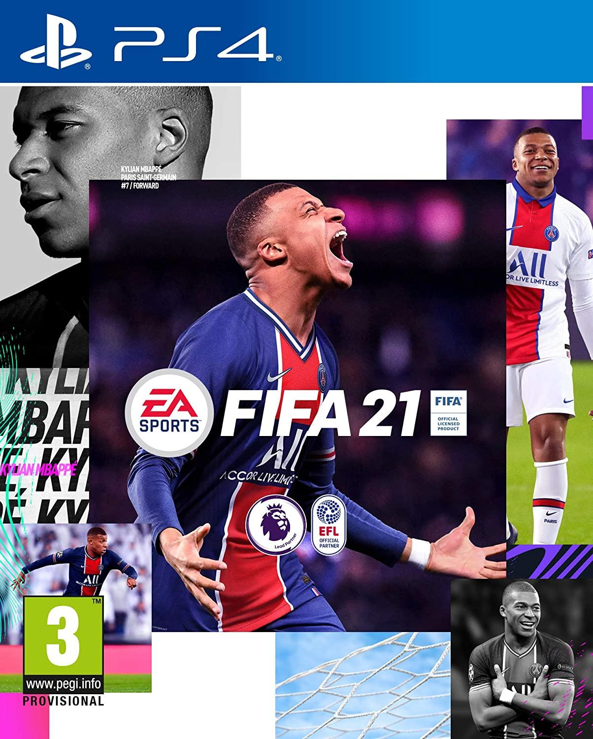 PS4 GAME FIFA 21