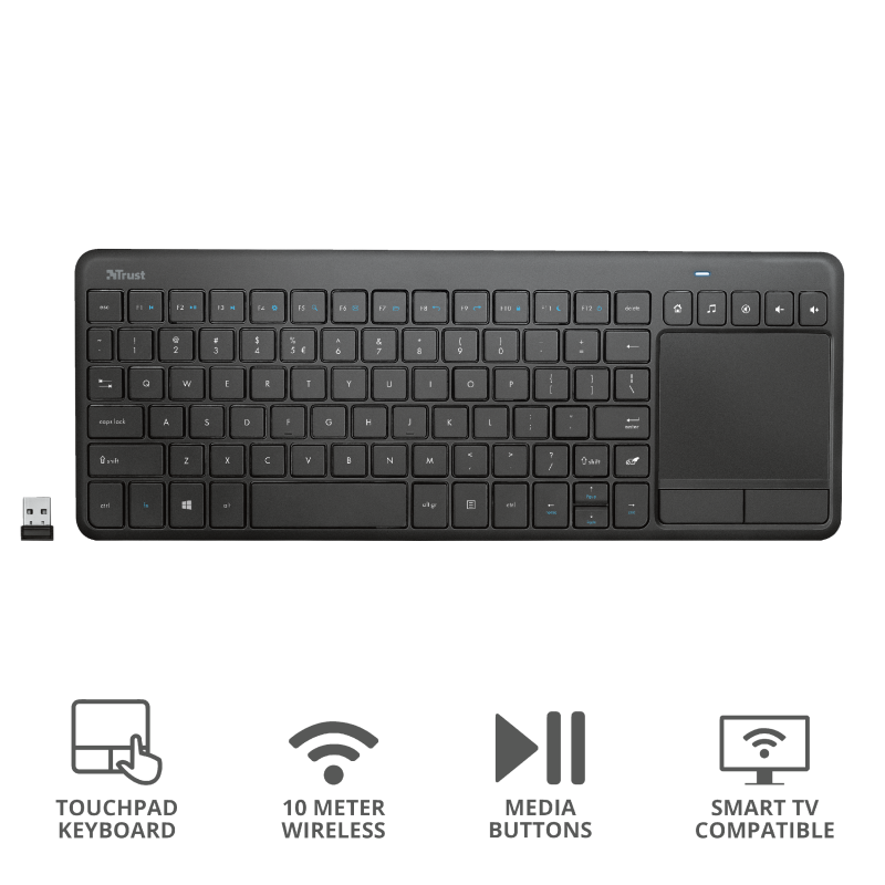 TRUST KEYBOARD WIRELESS VAIA GR TOUCH