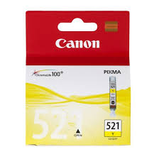 CANON INK  CLI-521Y YELLOW