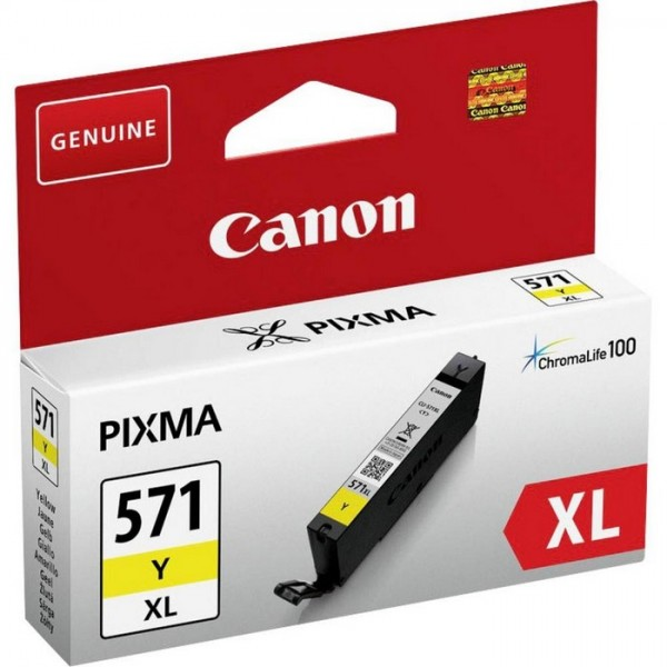 CANON INK  CLI-571Y XL YELLOW
