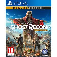 PS4 GAME GHOST RECON WILDLANDS G.E.