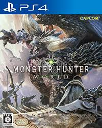 PS4 GAME MONSTER HUNTER WORLD