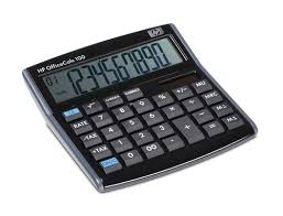 HP OFFICE CALCUL.100 10DIG.LRG SCRN 1 LI