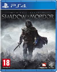 PS4 GAME MIDDLE EARTH:  SHADOW OF MORDOR