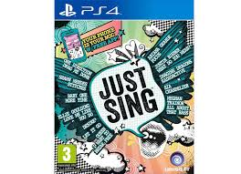 PS4 GAME JUST SING