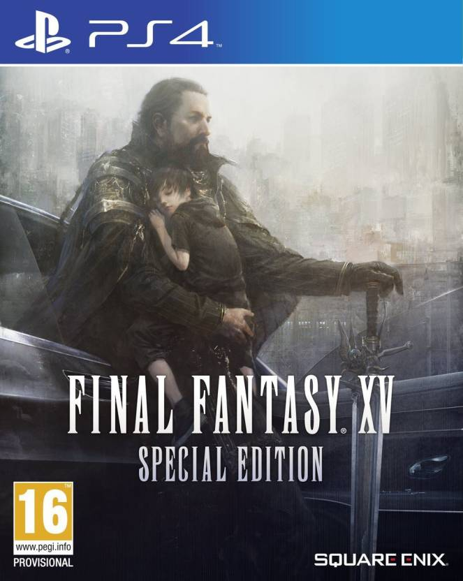PS4 GAME FINAL FANTASY XV STEELBO S.E.