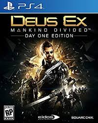 PS4 GAME DEUS EX: MANKIND DIVIDED DAY ON