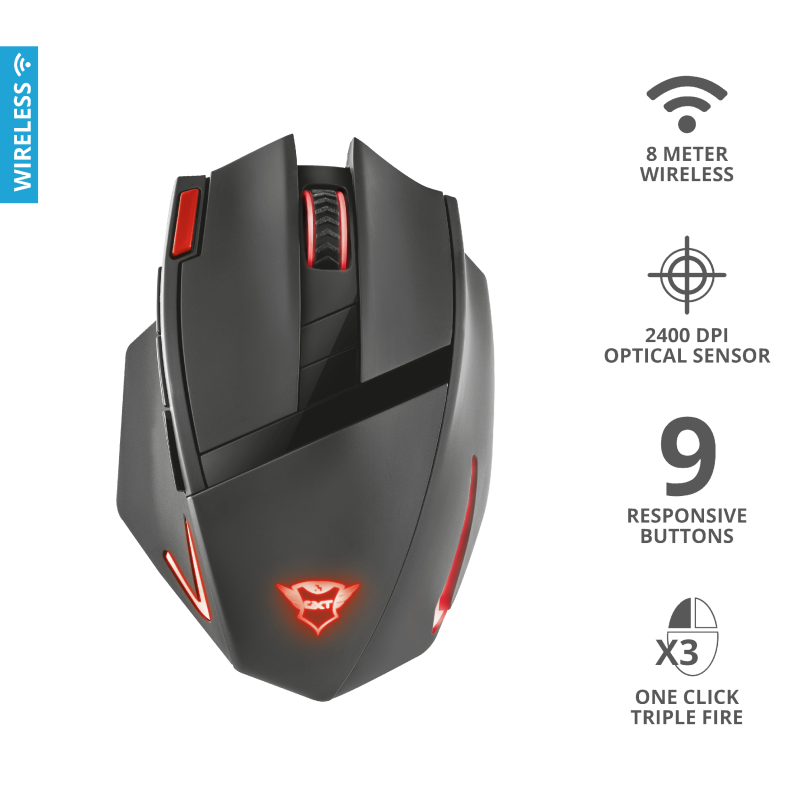 TRUST GXT 130 RANOO WIRELESS GAMING