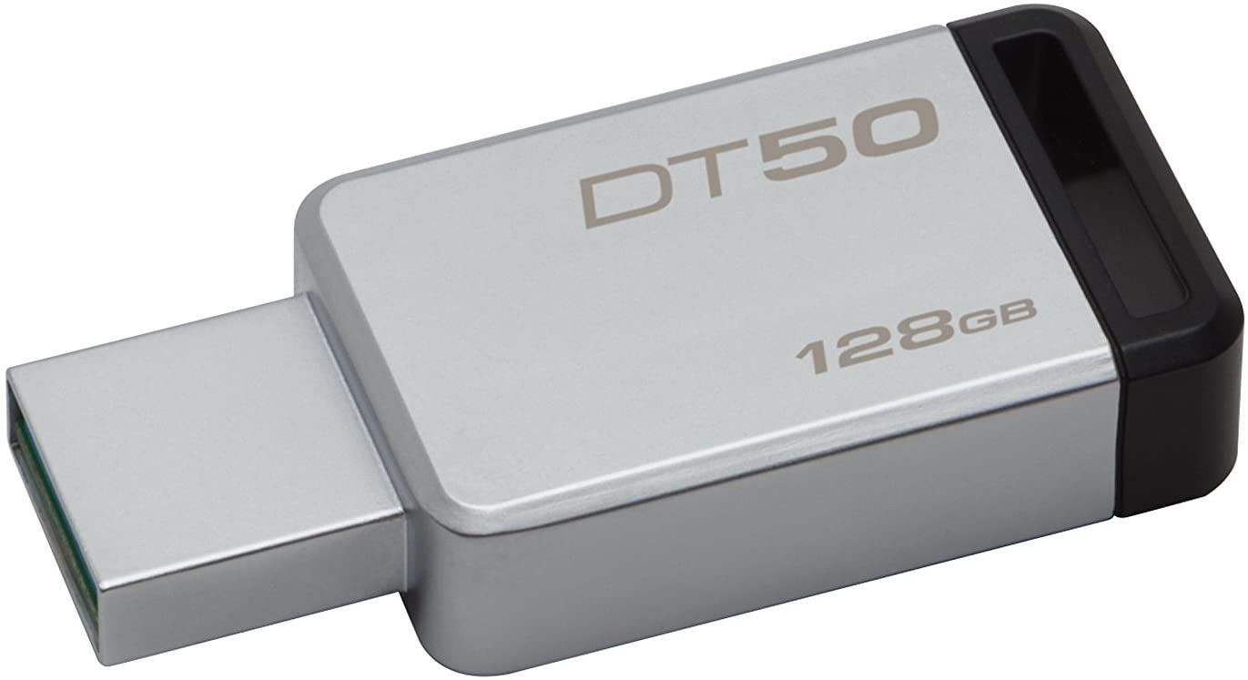 KINGSTON DT50/128GB DATA TRAV.50 MET.BLK