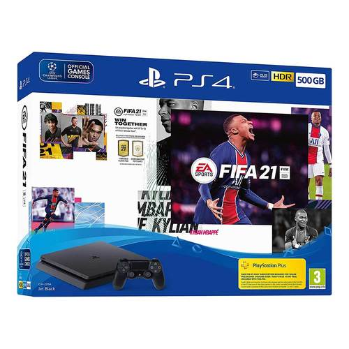 SONY PS4 CONSOLE 500GB F + FIFA21