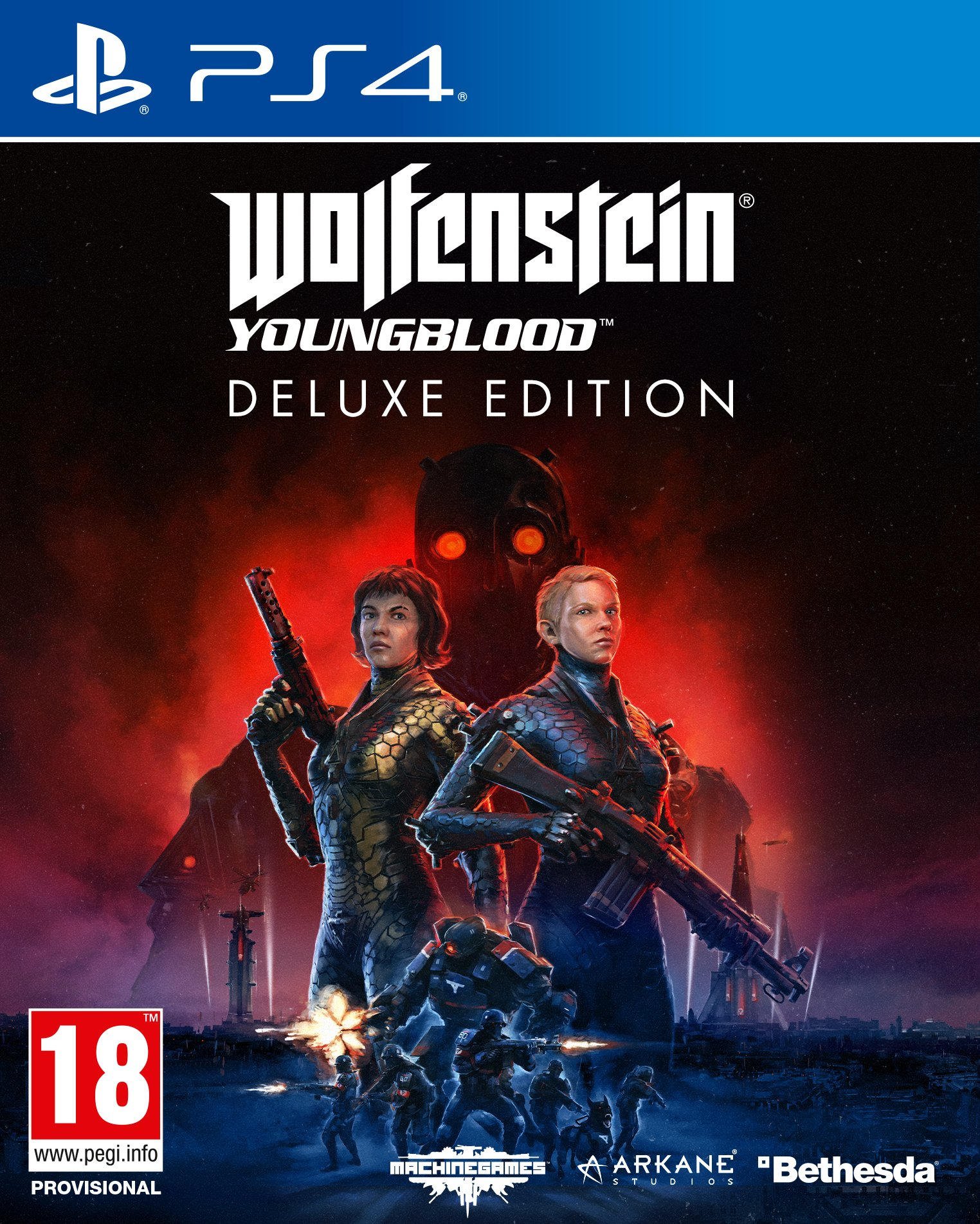 PS4 GAME WOLFENSTEIN 2 -THE NEW COLOSSUS