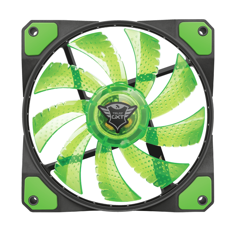 TRUST GAMI.ACC GXT762 PC FAN GRN 22348