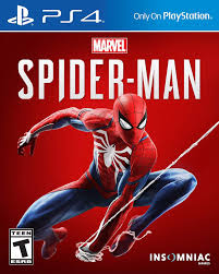PS4 GAME MARVEL'S SPIDER-MAN