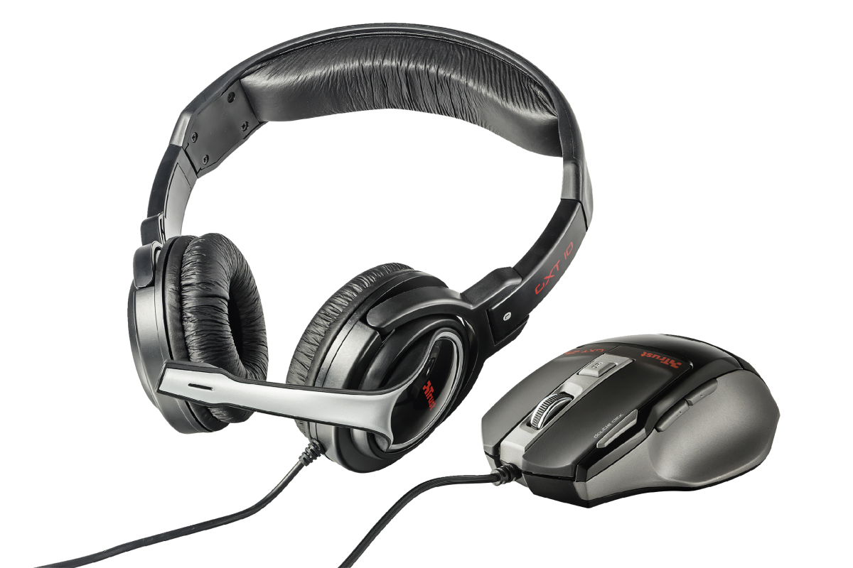 TRUST HEADSET & MOUSE GAMING GXT 249 PC