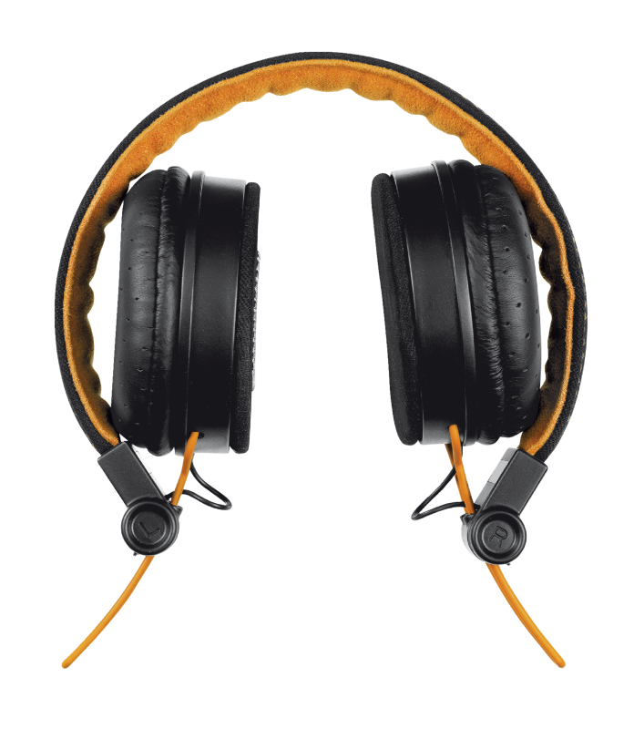 TRUST HEADPHONES UR FYBER BLK/OR 20079