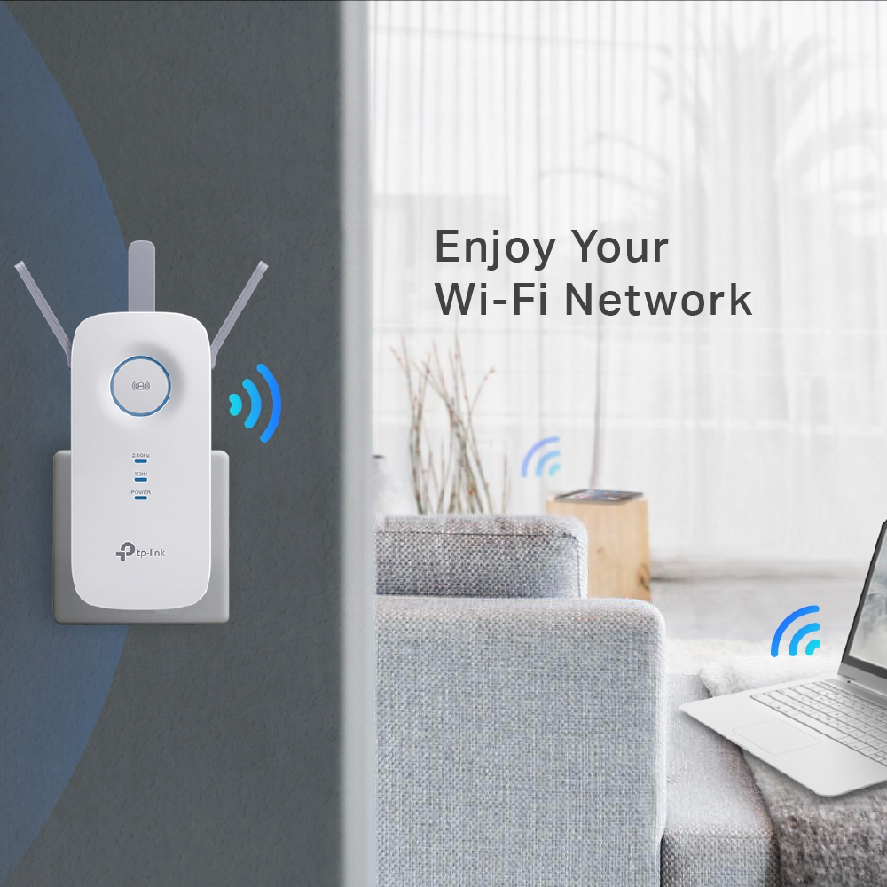 TP-LINK RE450(UK) AC1750 WI-FI RANGE EXT