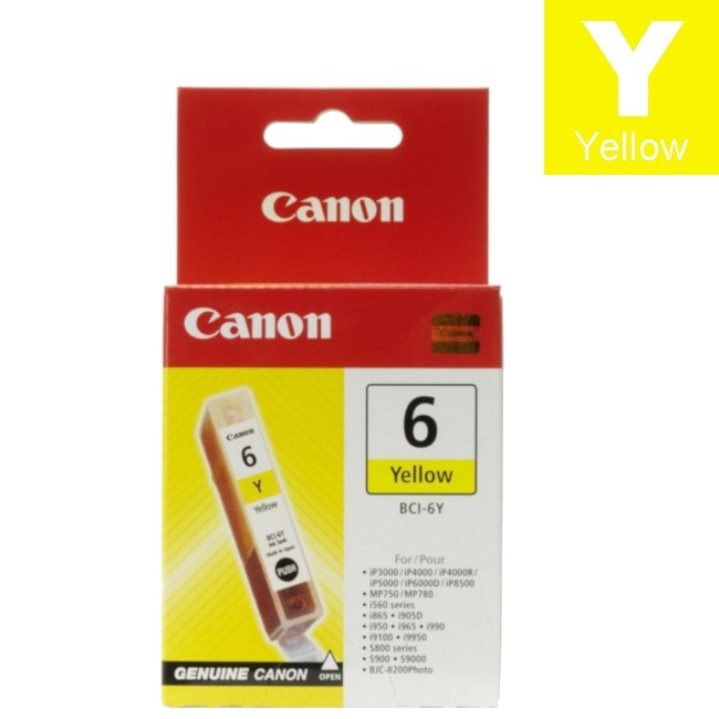 CANON INK BCI-6Y YELLOW