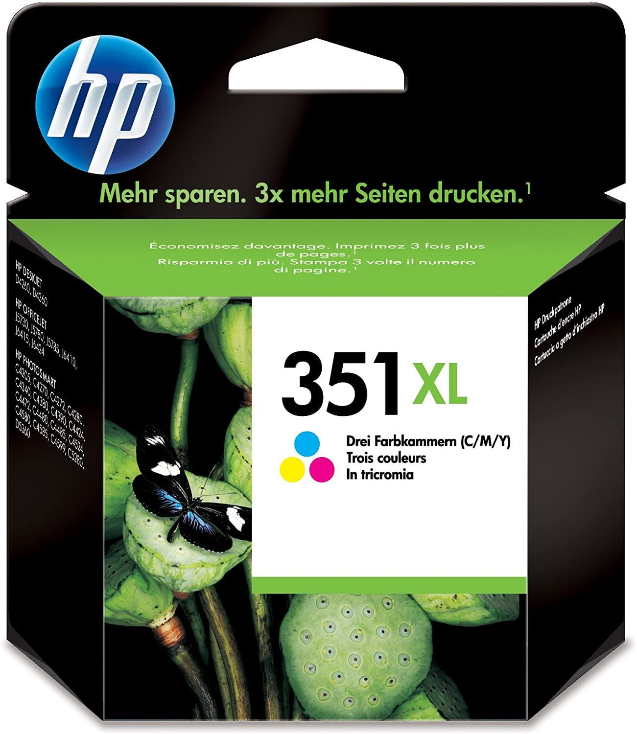 HP INK COLOR 351XL
