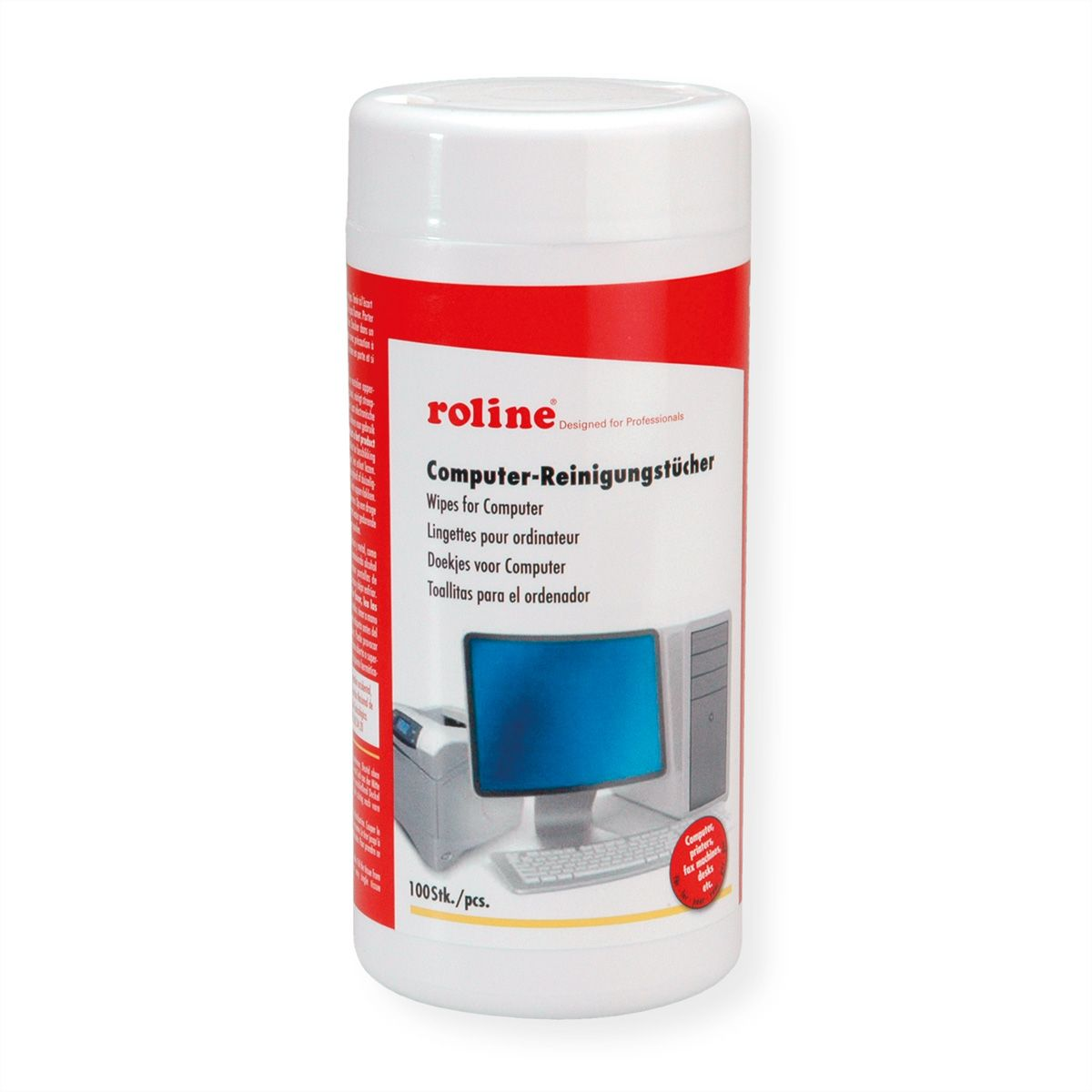 ROLINE MONITOR-CLEANING-TISSUES