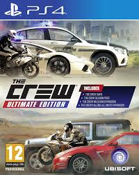 PS4 GAME THE CREW ULTIMATE EDITION