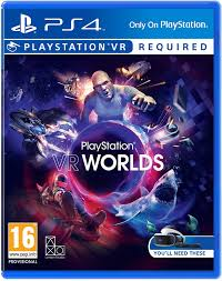 PS4 GAME VR WORLDS