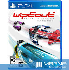 PS4 GAME WIPEOUT - OMEGA COLLECTION