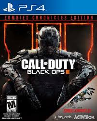 PS4 GAME CALL OF DUTY - BLACK OPS 3 ZOMB