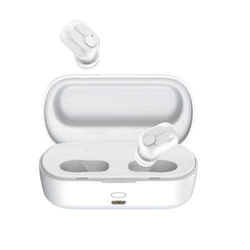 BASEUS NGW01-02 EARPHONE BT W01 ENC.WH