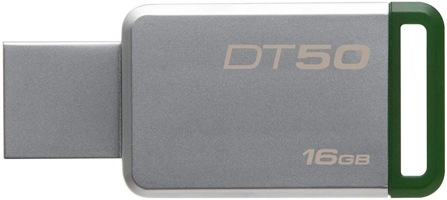 KINGSTON DT50/16GB DATA TRAV.50 MET.GRN