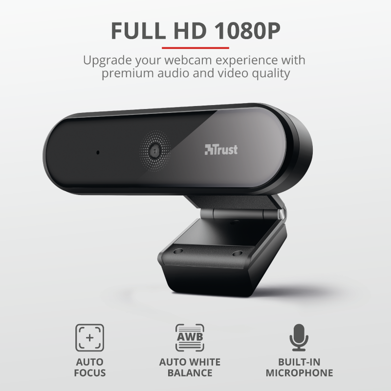 TRUST TYRO WEBCAM FULL HD 23637
