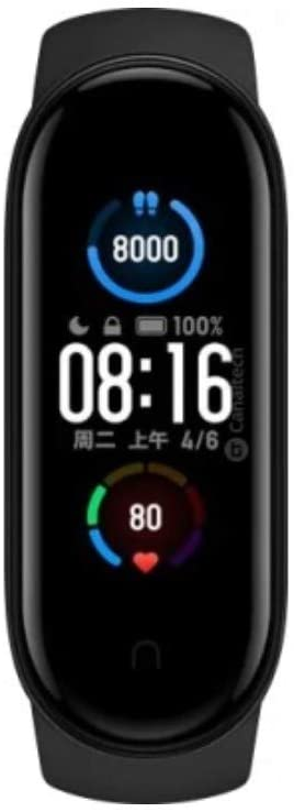XIAOMI XMSH10HM MI BAND 5 BLACK