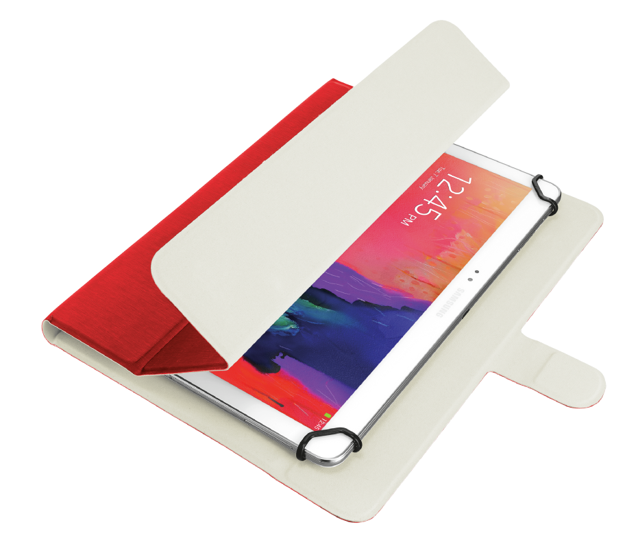 "TRUST TABLETCASE 10.1""AEXXO UN RED 21206"