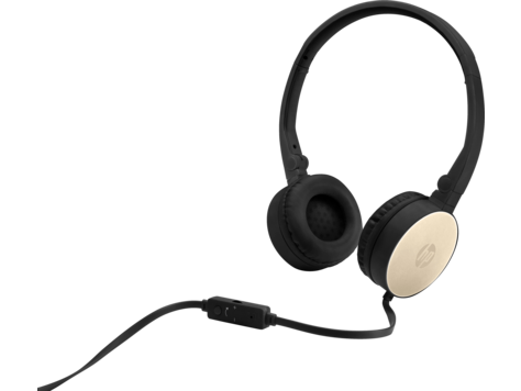 HP 2AP94AA HEADSET H2800 BLACK/GOLD