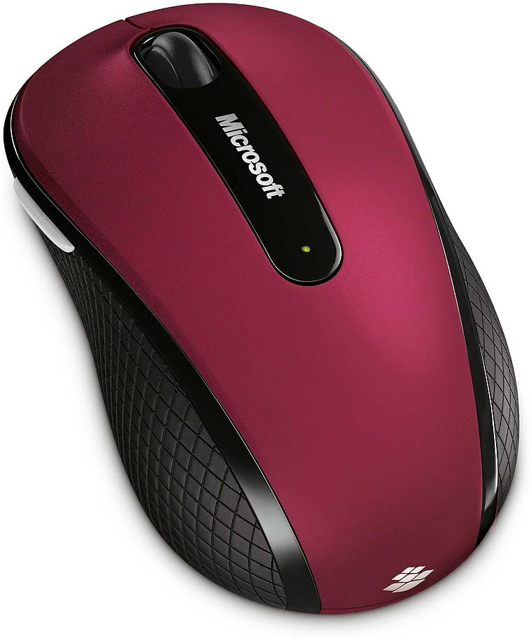 MICROSOFT WIRELESS MOUSE 4000 PINK