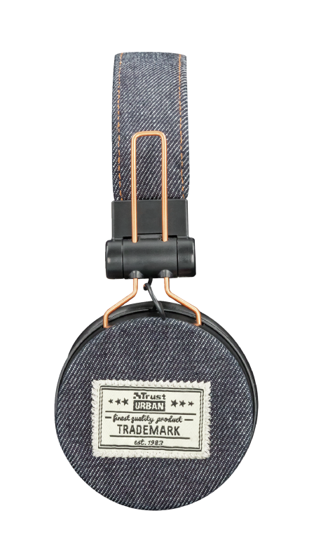 TRUST HEADPHONES UR FYBER DENIM DARK 226