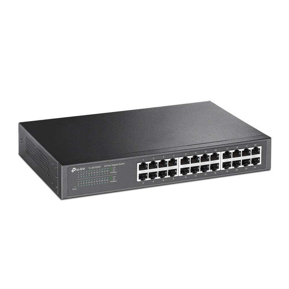 TP-LINK 24-PORT GIGAB.ECO-SWITCH SG1024D