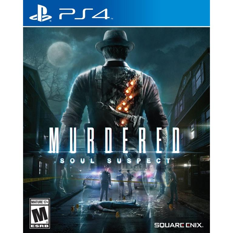 PS4 GAME MURDERED SOUL SUSPECTS L.E.