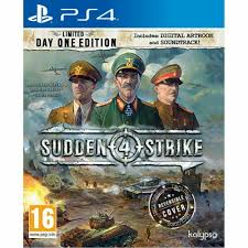 PS4 GAME SUDDEN STRIKE 4 LMTD DAY ONE E.