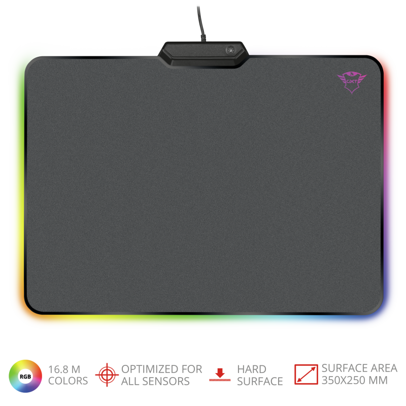 TRUST GAMING GXT 760 GLIDE RGB MOUSEPAD
