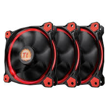 THERMALTAKE RIING 12 LED RED FAN 3 PACK