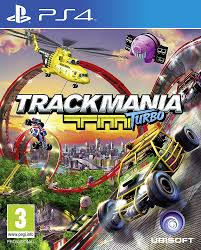 PS4 GAME TRACKMANIA TM TURBO VR COMPATIB